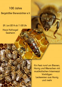 100 Jahre Bergsträßer Bienenzüchter e.V.