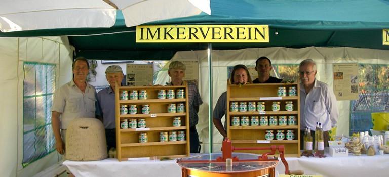 Imkerverein Modautal-Fischbachtal e.V. auf dem Modautaler Bauernmarkt