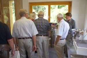 Eröffnung der Schauimkerei Kühkof am 02.09.16: Bienen Informationshaus