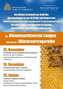 Vortragsreihe Egelsbach 2017 c) Bienenzuchtverein Langen u. Umg. e.V.
