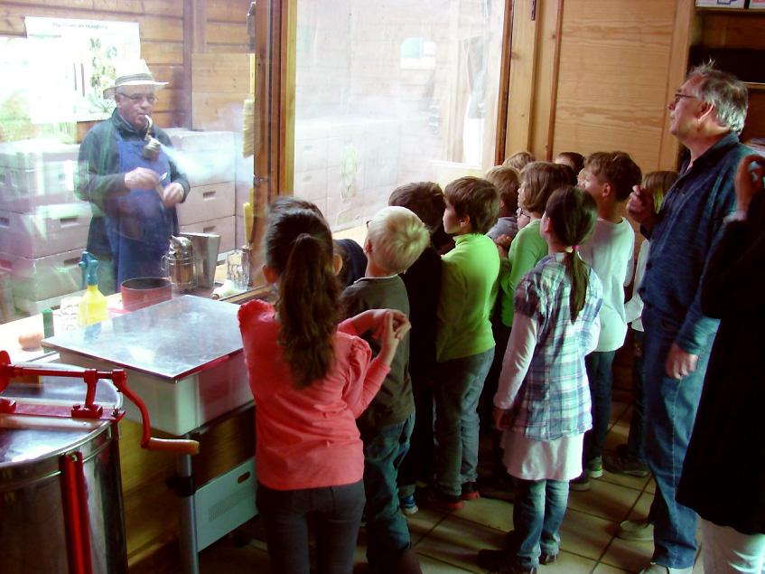 Besuch eines Kindergartens im BZV Rossdorf