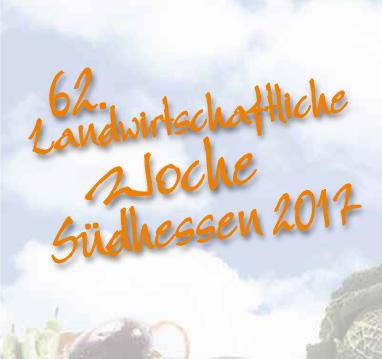 62. Landwirtschaftlichen Woche Südhessen 2017
