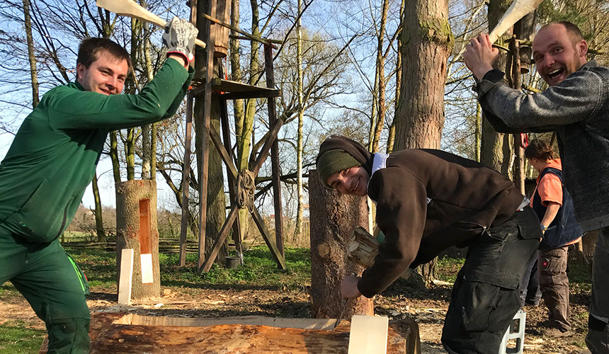 Klotzbeuten-Workshop